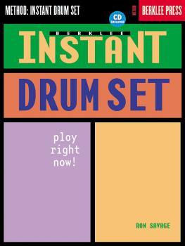 Berklee Instant Drum Set (Play Right Now!) (HL-50449513)