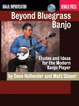 Beyond Bluegrass Banjo: Etudes and Ideas for the Modern Banjo Player (HL-50449610)