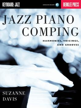 Jazz Piano Comping: Harmonies, Voicings, and Grooves (HL-50449614)