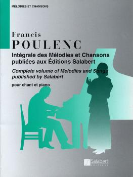 Mélodies et Chansons (Voice and Piano) (HL-50481186)