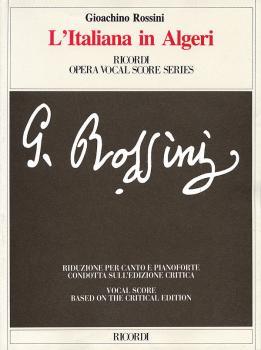 L'Italiana in Algeri: Vocal Score Critical Edition (HL-50482478)