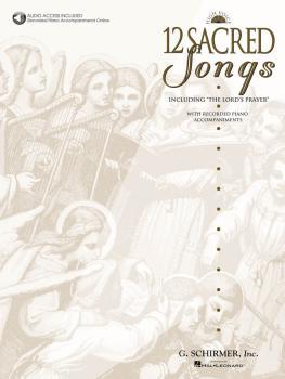 12 Sacred Songs - High Voice (HL-50482643)