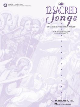 12 Sacred Songs - Low Voice (HL-50482644)