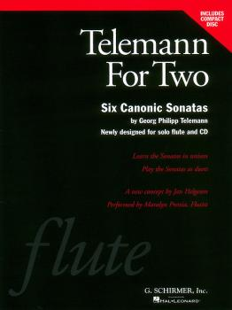 Telemann for Two (Book/CD Pack) (HL-50483107)