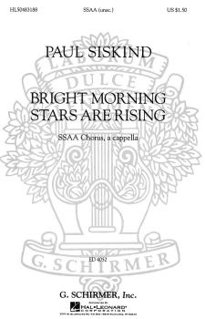 Bright Morning Stars are Rising (SSAA a cappella) (HL-50483188)