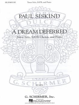 A Dream Deferred: SSAATTBB Chorus and Piano (HL-50483190)