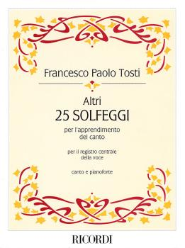 Altri: 25 Solfeggi for Middle Range (HL-50483544)