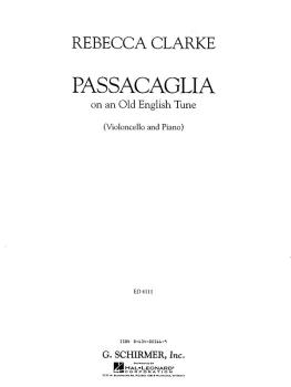 Passacaglia (Cello and Piano) (HL-50483592)