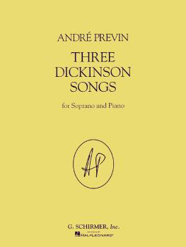 Three Dickinson Songs (Soprano and Piano) (HL-50483603)