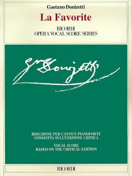 La Favorita (Vocal Score) (HL-50483731)