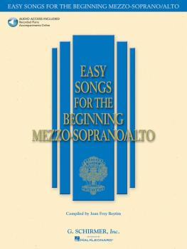 Easy Songs for the Beginning Mezzo-Soprano/Alto (HL-50483757)