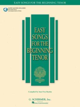 Easy Songs for the Beginning Tenor (HL-50483758)
