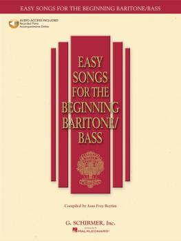 Easy Songs for the Beginning Baritone/Bass (HL-50483759)