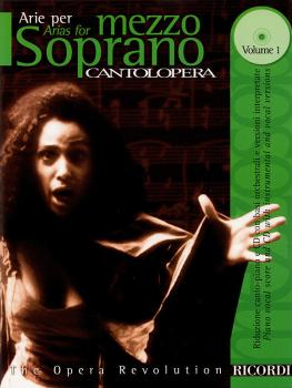 Cantolopera: Arias for Mezzo-Soprano - Volume 1: Cantolopera Collectio (HL-50484051)