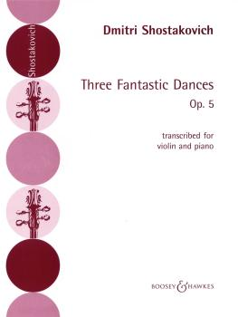 3 Fantastic Dances, Op. 5 (Violin and Piano) (HL-50484103)