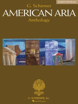 G. Schirmer American Aria Anthology (Baritone/Bass) (HL-50484626)