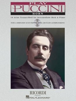 Play Puccini: 10 Arias Transcribed for Horn & Piano (HL-50484656)