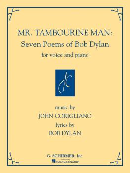 Mr. Tambourine Man: Seven Poems of Bob Dylan (for Voice and Piano) (HL-50484694)