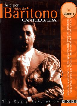 Cantolopera: Arias for Baritone - Volume 3: Cantolopera Collection (HL-50484921)