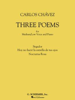 Three Poems (for Medium/Low Voice and Piano) (HL-50485218)