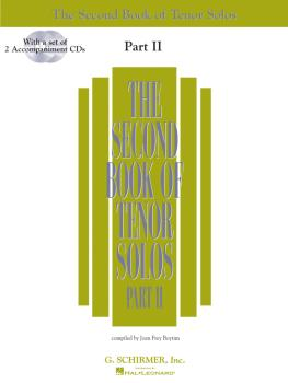 The Second Book of Tenor Solos Part II (Book/2 CDs Pack) (HL-50485227)