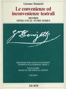 Gaetano Donizetti - Le convenienze ed inconvenienze teatrali: Vocal Sc (HL-50485329)