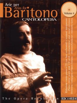 Arias for Baritone Volume 4 (Cantolopera Series) (HL-50485546)