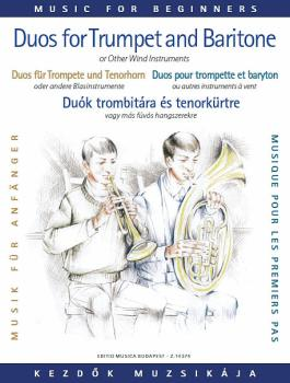Duos for Trumpet and Baritone (or Trombone) (for Beginners) (HL-50485625)