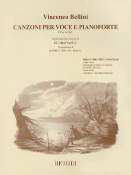 Vincenzo Bellini - Canzoni Per Voce: Songs for High Voice and Piano (HL-50485650)
