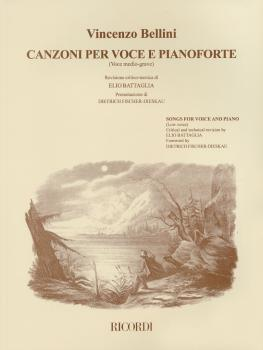 Vincenzo Bellini - Canzoni Per Voce: Songs for Low Voice and Piano (HL-50485651)