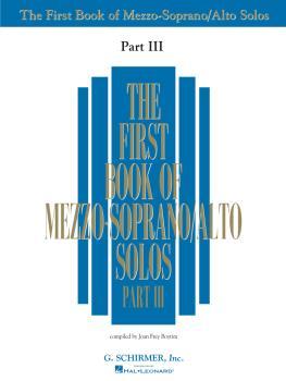 First Book of Mezzo-Soprano Solos - Part III (HL-50485885)