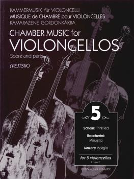 Chamber Music for Violoncellos - Volume 5: 5 Violoncellos Score and Pa (HL-50486001)