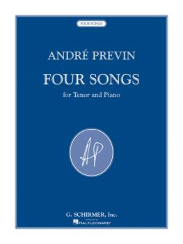 4 Songs (for Tenor and Piano) (HL-50486045)