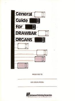 General Guide For Drawbar Organs (HL-00210010)