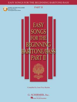 Easy Songs for the Beginning Baritone/Bass - Part II (HL-50486245)