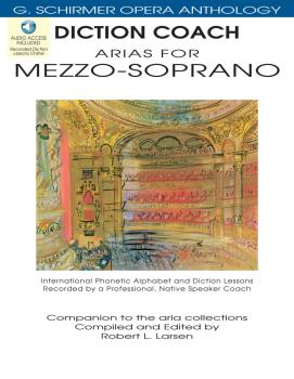 Diction Coach - G. Schirmer Opera Anthology (Arias for Mezzo-Soprano): (HL-50486257)