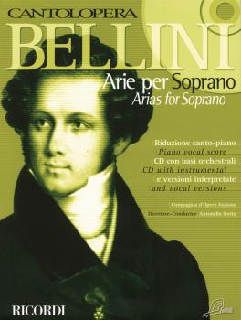 Bellini Arias for Soprano (Cantolopera Series) (HL-50486424)