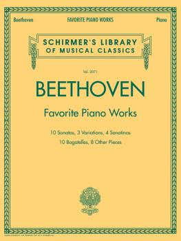Beethoven - Favorite Piano Works: Schirmer's Library of Musical Classi (HL-50486577)
