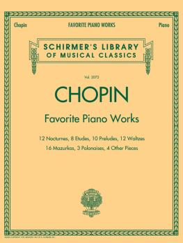 Favorite Piano Works: Schirmer's Library of Musical Classics Volume 20 (HL-50486580)