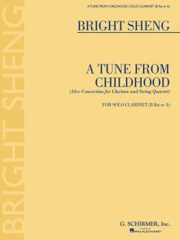 A Tune from Childhood: After Concertino for Clarinet and String Quarte (HL-50486620)