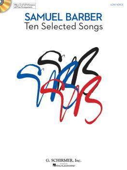 10 Selected Songs: Low Voice Book/CD Pack (HL-50486752)