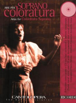 Arias for Coloratura Soprano: Cantolopera Series Book/CD Pack (HL-50486841)