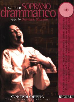 Arias for Dramatic Soprano: Cantolopera Series Book/CD Pack (HL-50486842)