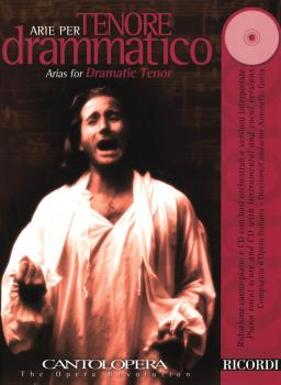 Arias for Dramatic Tenor: Cantolopera Series Book/CD Pack (HL-50486843)