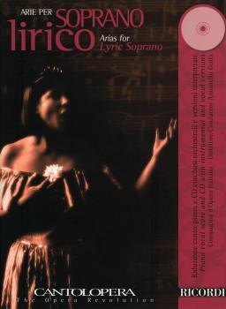 Arias for Lyric Soprano: Cantolopera Series Book/CD Pack (HL-50486844)