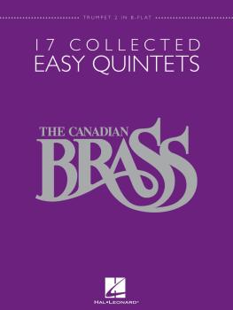 17 Collected Easy Quintets (Trumpet 2 in B-flat) (HL-50486949)