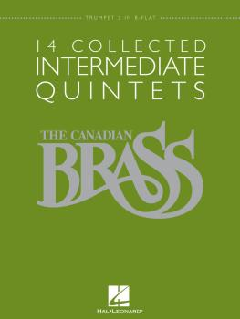 14 Collected Intermediate Quintets (Trumpet 2 in B-flat) (HL-50486955)
