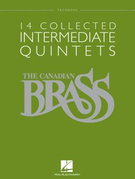 14 Collected Intermediate Quintets (Trombone) (HL-50486957)