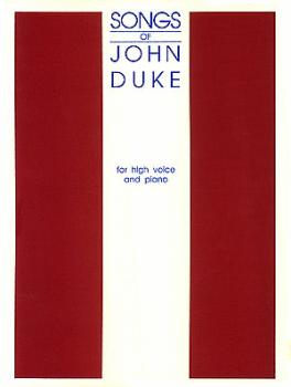 The Songs of John Duke (High Voice) (HL-50488485)