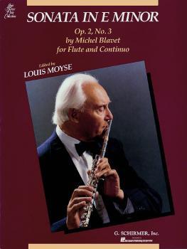Sonata in E Minor, Op. 2, No. 3 (Flute and Piano) (HL-50488571)